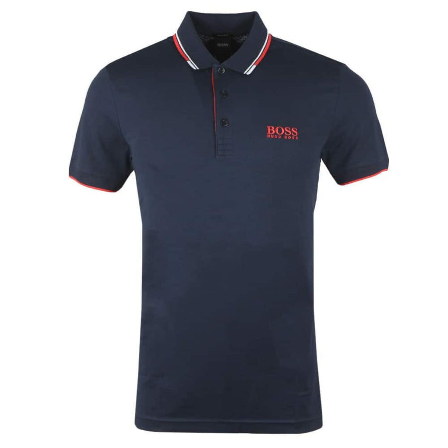 HUGO BOSS S/S PADDY PRO POLO 50430796 NAVY (411)