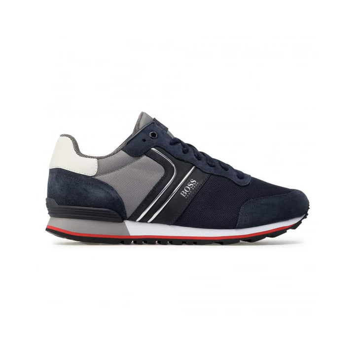 BOSS PARKOUR RUNN TRAINERS 50433661 OPEN BLUE