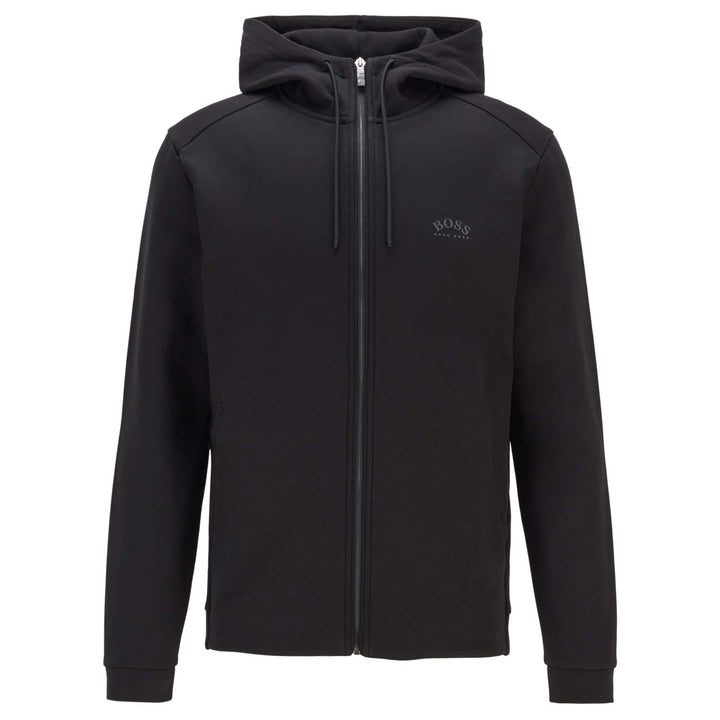 BOSS SAGGY LOGO BRANDED HOODY 50441280 BLACK (001)