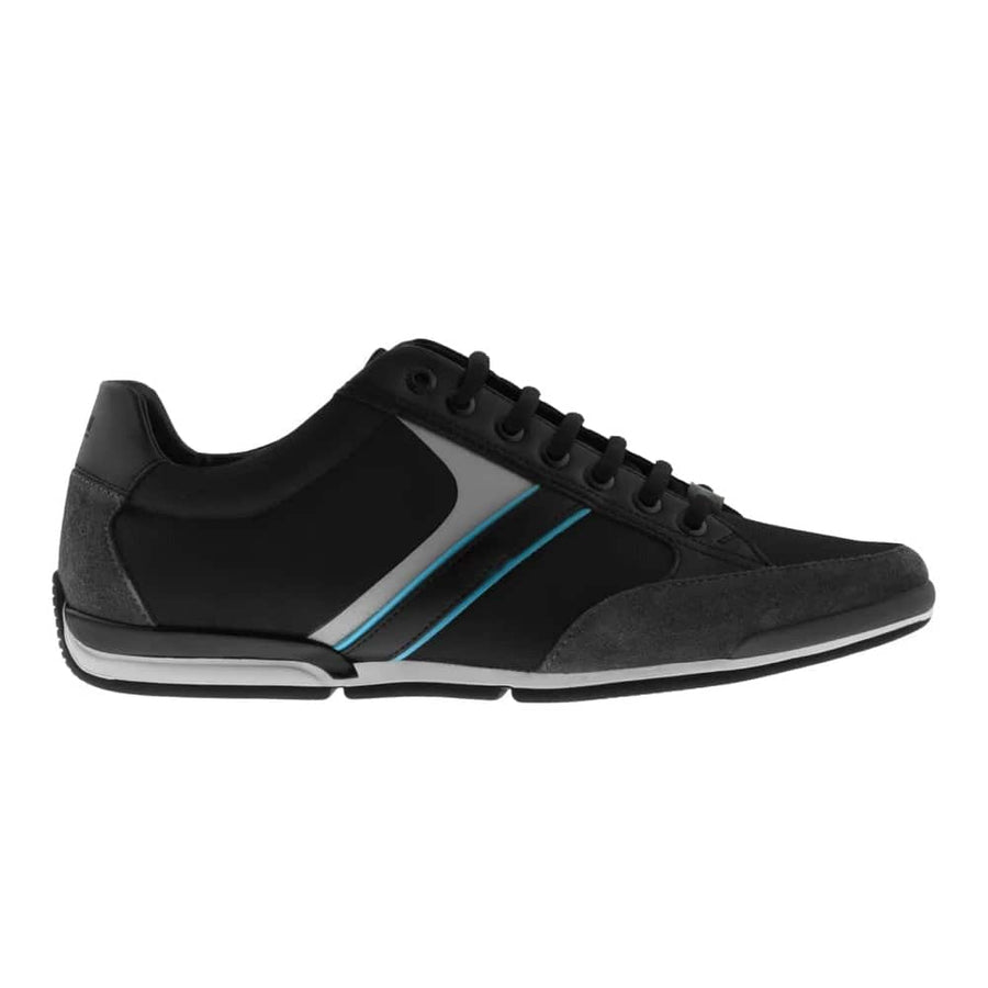HUGO BOSS SATURN_LOWP_MX LACE UP TRAINER 50407672 OPEN GREY (063)