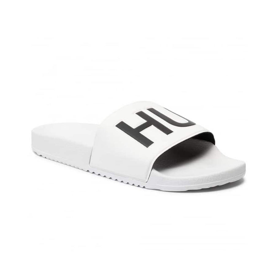 HUGO BOSS TIMEOUT SLIP ON SLIDER 50411426 WHITE (100)