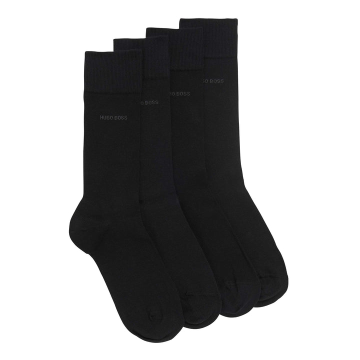 BOSS TWO PACK SOCK 50272214 BLACK