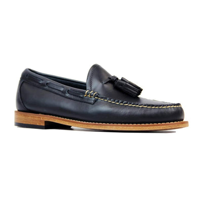 GH BASS WEEJUN LARKIN PULL UP - BA11016 NAVY LEATHER