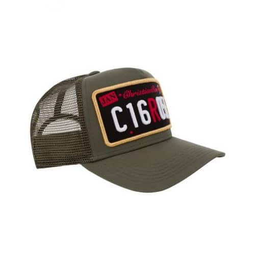 CHRISTIAN ROSE PRIVATE PLATE TRUCKER CR001 KHAKI