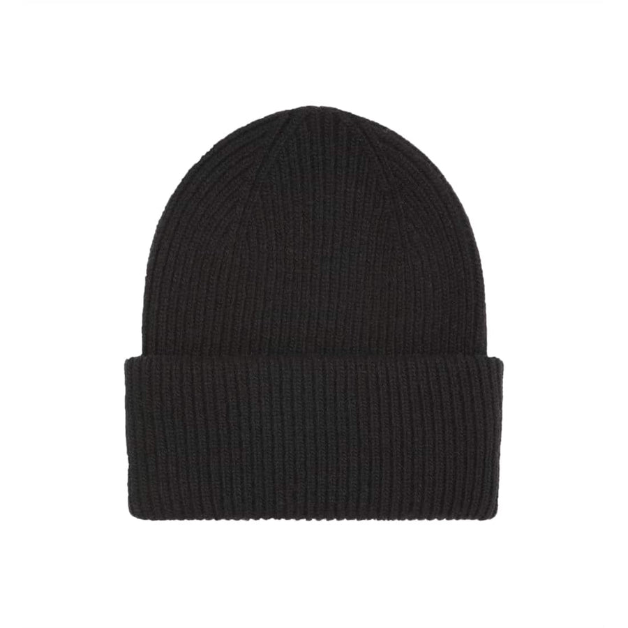 COLORFUL STANDARD MERINO WOOL BEANIE CS5081 DEEP BLACK