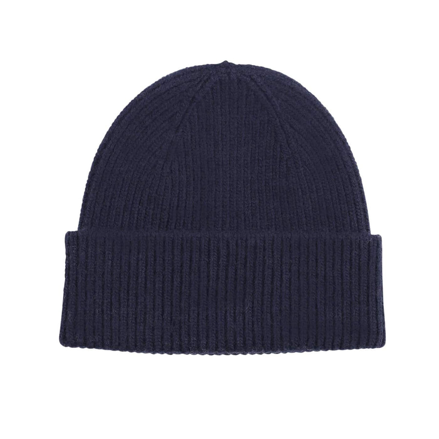 COLORFUL STANDARD MERINO WOOL BEANIE CS5081 NAVY BLUE
