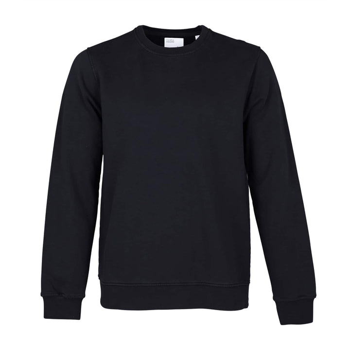 COLORFUL STANDARD L/S ORGANIC COTTON JUMPER CS1005 DEEP BLACK