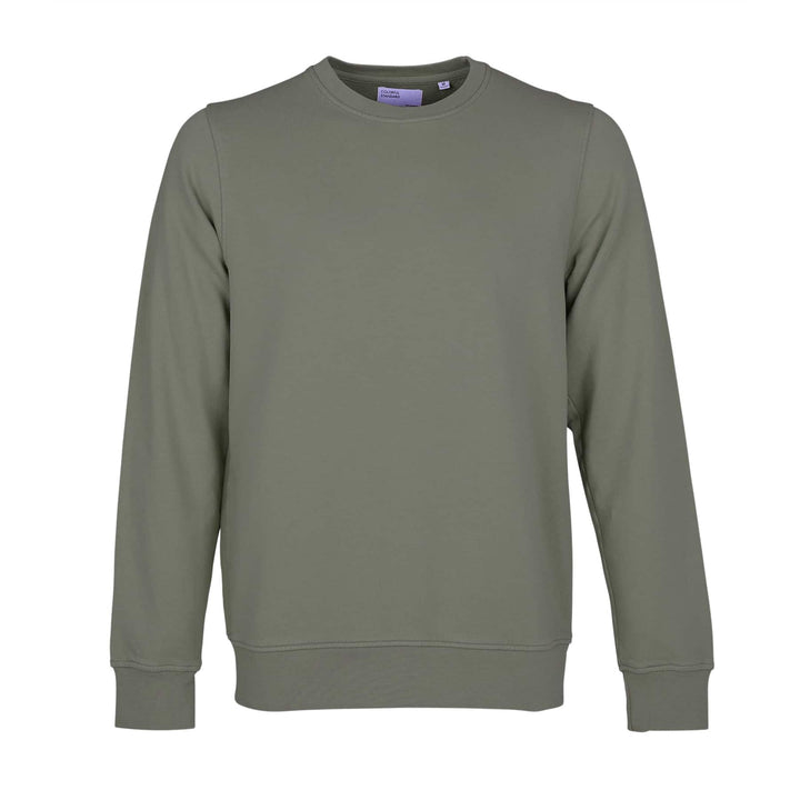 COLORFUL STANDARD L/S ORGANIC COTTON JUMPER CS1005 DUSTY OLIVE