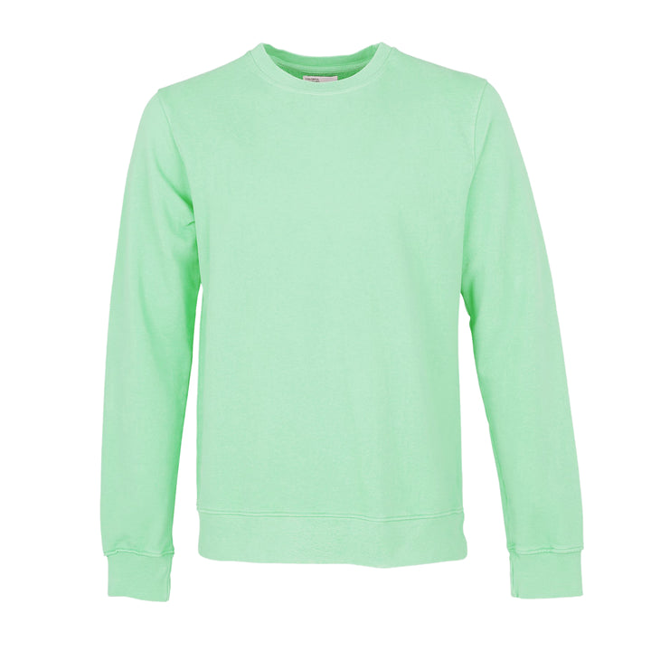 COLORFUL STANDARD L/S ORGANIC COTTON JUMPER CS1005 FADED MINT