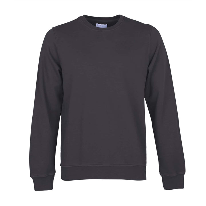 COLORFUL STANDARD L/S ORGANIC COTTON JUMPER CS1005 LAVA GREY