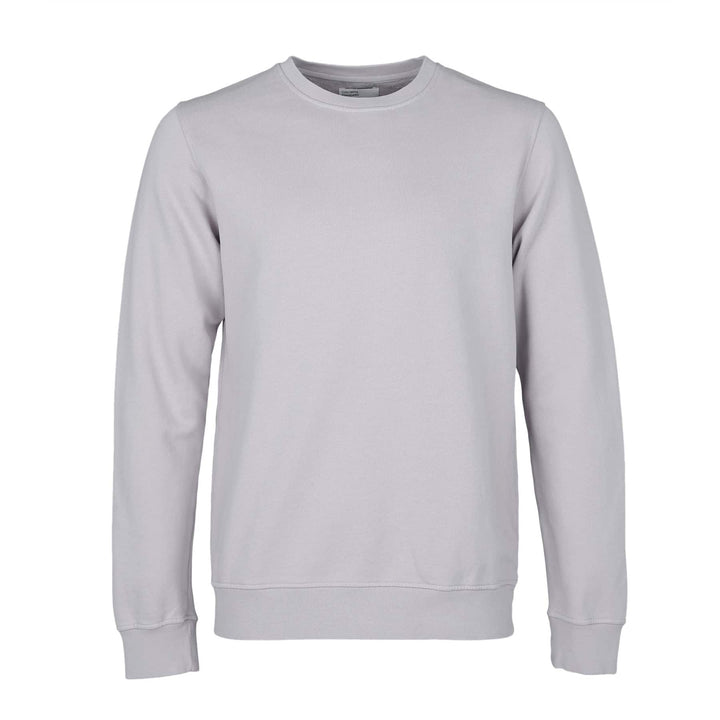 COLORFUL STANDARD L/S ORGANIC COTTON JUMPER CS1005 LIMESTONE GREY