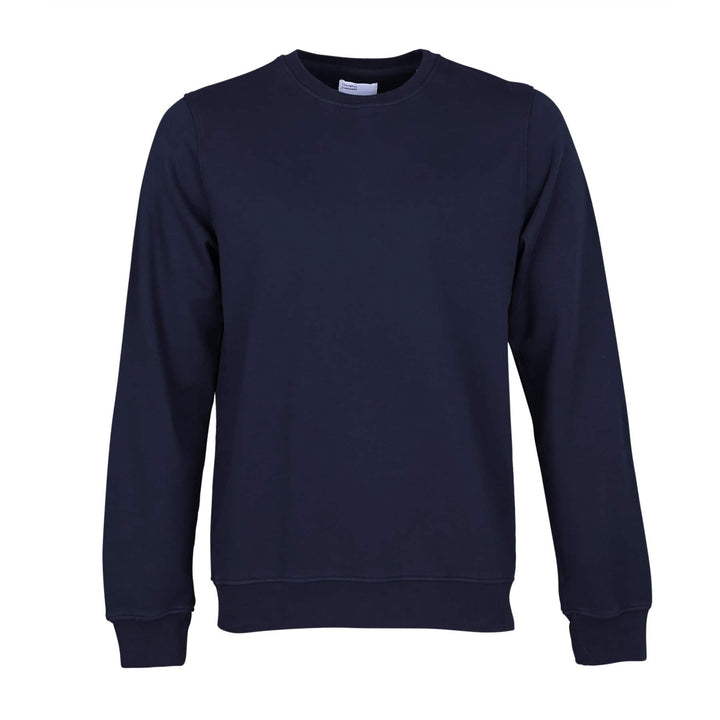COLORFUL STANDARD L/S ORGANIC COTTON JUMPER CS1005 NAVY BLUE