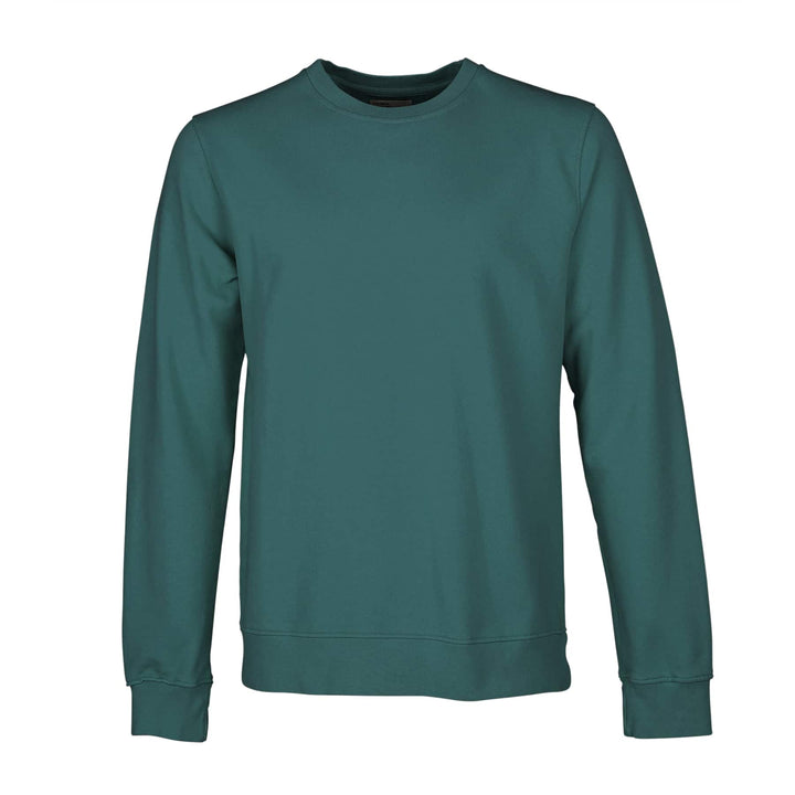 COLORFUL STANDARD L/S ORGANIC COTTON JUMPER CS1005 OCEAN GREEN