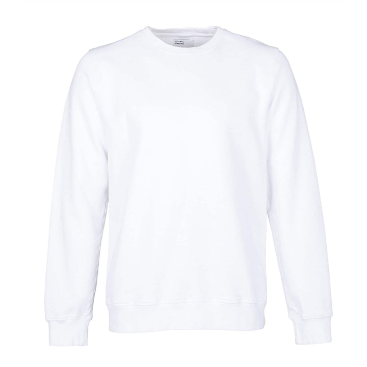 COLORFUL STANDARD L/S ORGANIC COTTON JUMPER CS1005 OPTICAL WHITE