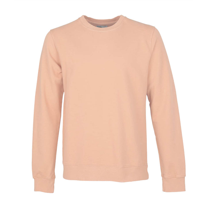COLORFUL STANDARD L/S ORGANIC COTTON JUMPER CS1005 PARADISE PEACH