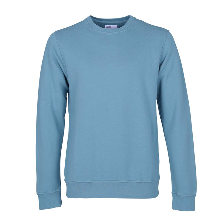 COLORFUL STANDARD L/S ORGANIC COTTON JUMPER CS1005 STONE BLUE