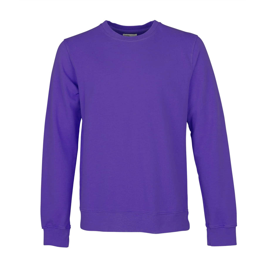 COLORFUL STANDARD L/S ORGANIC COTTON JUMPER CS1005 ULTRA VIOLET
