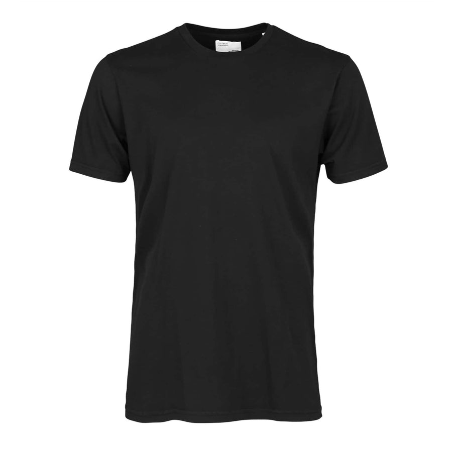 COLORFUL STANDARD S/S ORGANIC COTTON T-SHIRT CS1001 DEEP BLACK