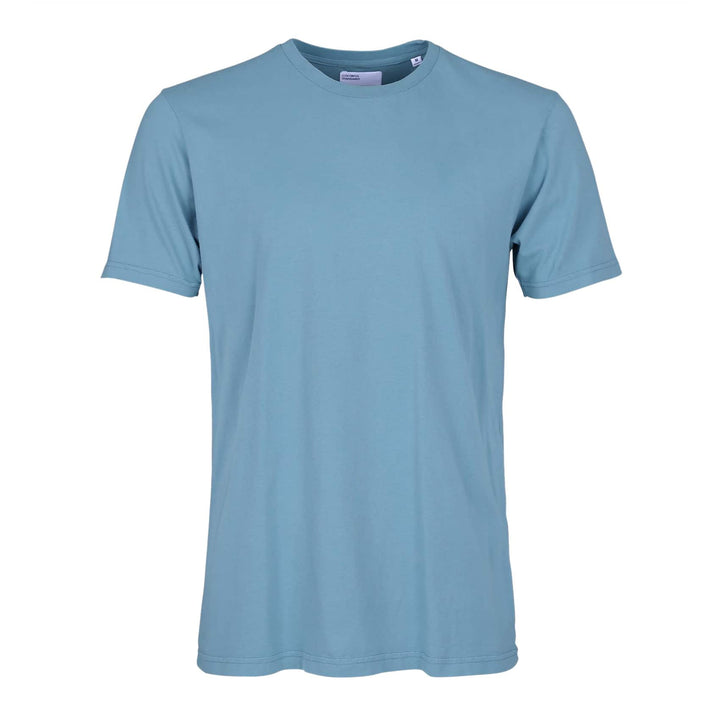COLORFUL STANDARD S/S ORGANIC COTTON T-SHIRT CS1001 STONE BLUE