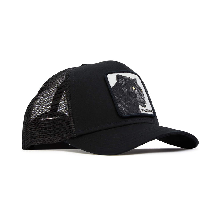 GOORIN BROS. BLACK PANTHER MESH TRUCKER CAP 101-0465 BLACK