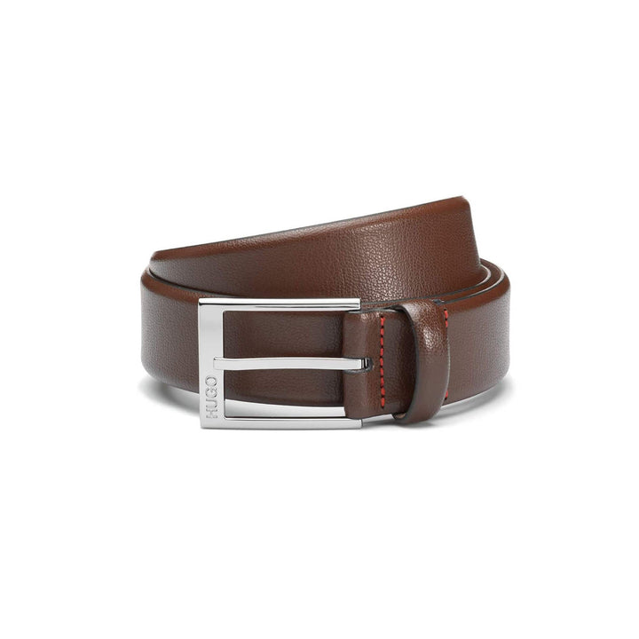 HUGO BOSS GELLOT BELT 50385627 DARK BROWN