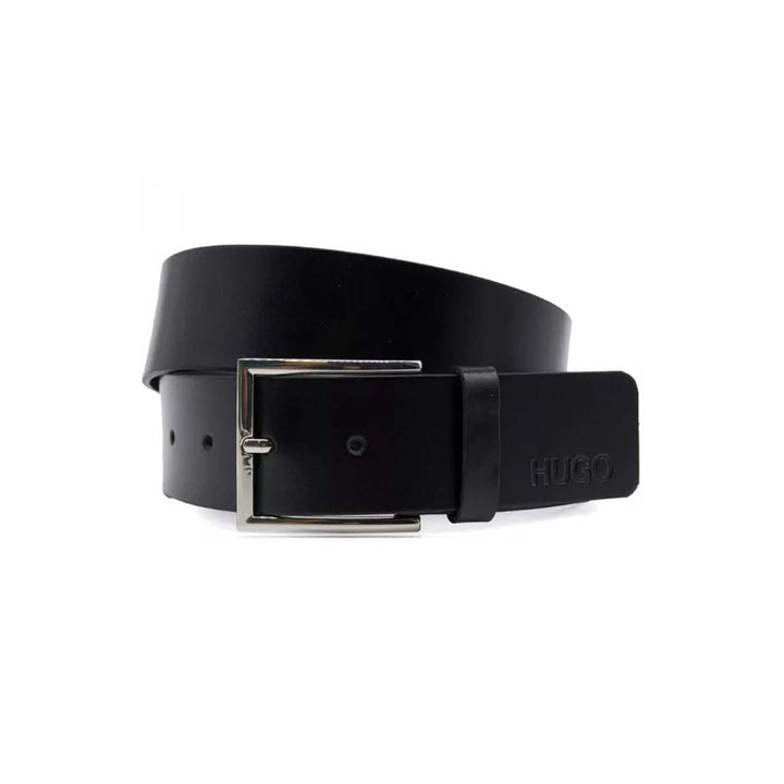 HUGO BOSS GIASPO_SZ40 LEATHER BELT 50430676 BLACK (001)