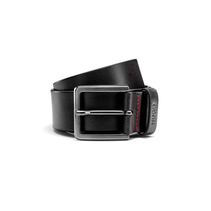 HUGO BOSS GIONIO LEATHER BELT 50385358 BLACK