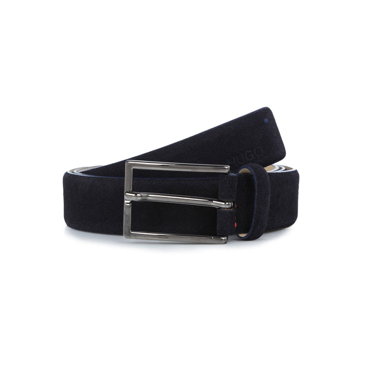 HUGO SUEDE DANNY BELT 50332883 NAVY