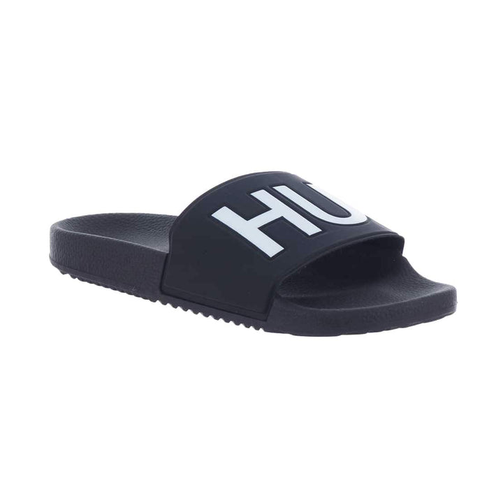 HUGO TIMEOUT SLIP ON SLIDER 50411426 DARK BLUE (401)