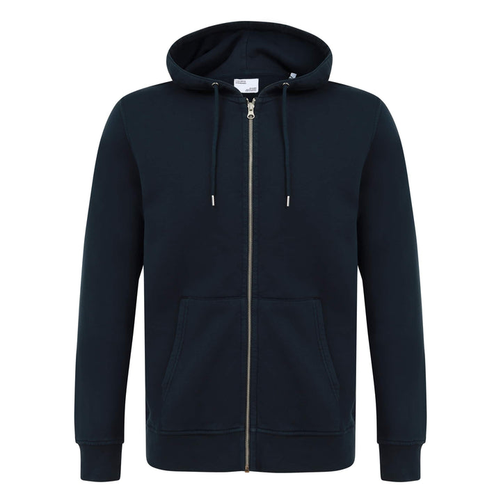COLORFUL STANDARD L/S FITTED HOODY CS1007 NAVY BLUE
