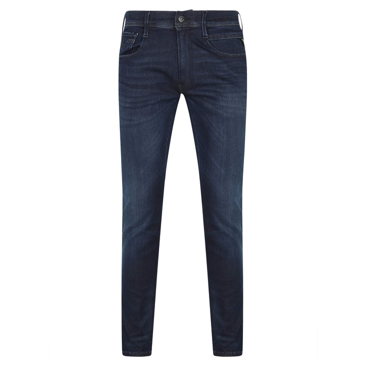 REPLAY ANBASS HYPERFLEX 5 POCKET JEAN M914 - 661 804 007 RAW INDIGO