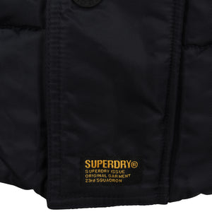 SUPERDRY L/S CHINOOK JACKET M50013DR NAVY (11S)