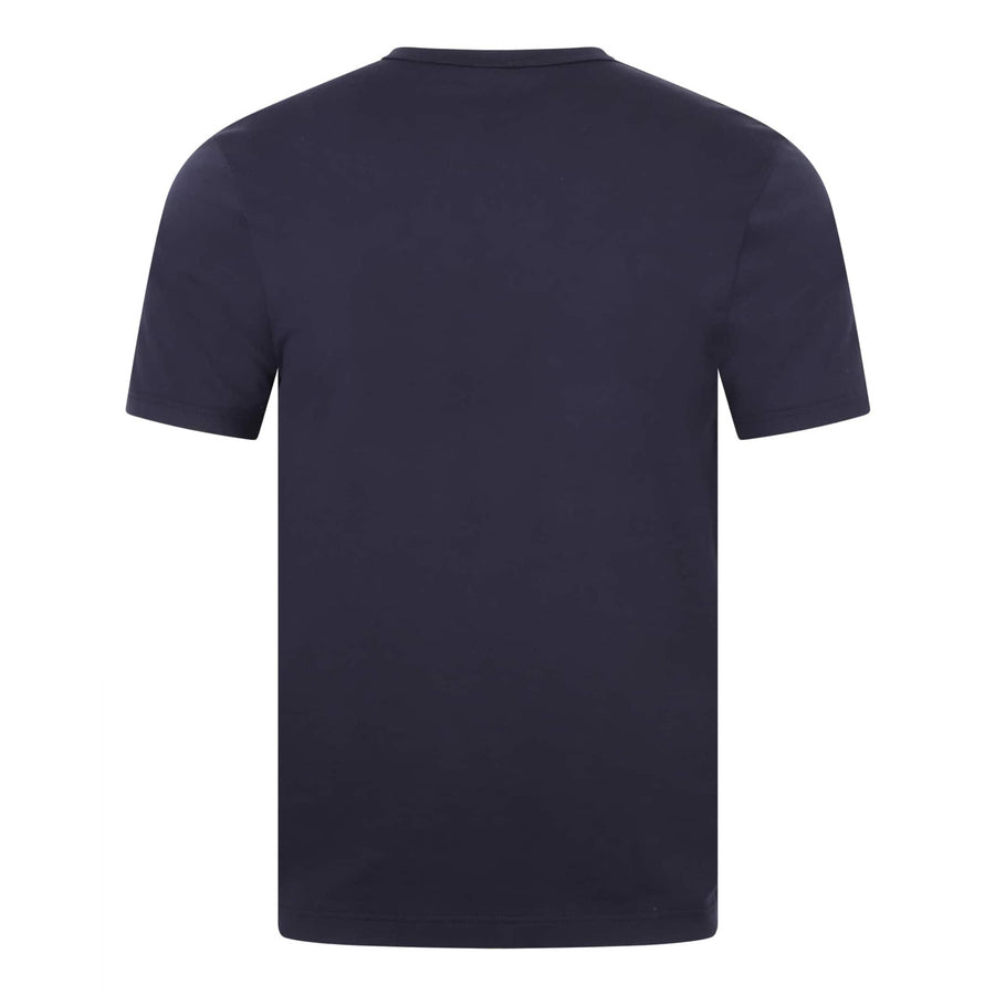 SUNSPEL S/S CREW NECK FITTED T-SHIRT MTSH0001 NAVY
