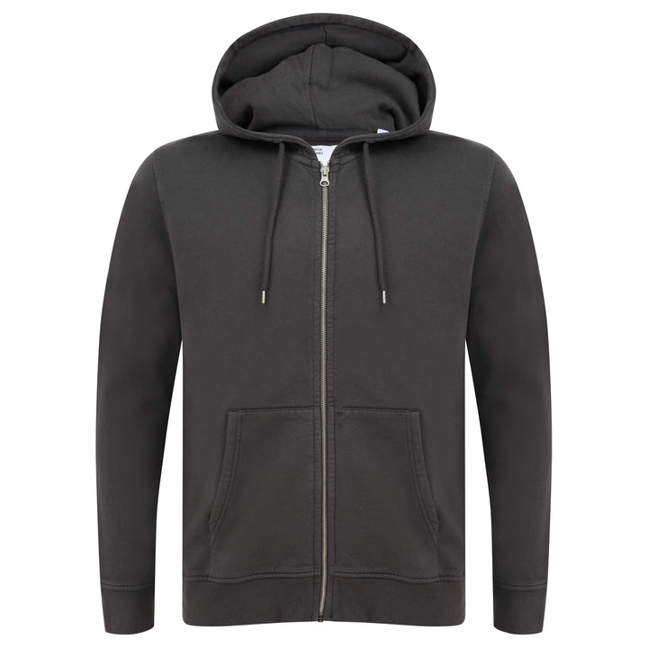 COLORFUL STANDARD L/S FITTED HOODY CS1007 LAVA GREY