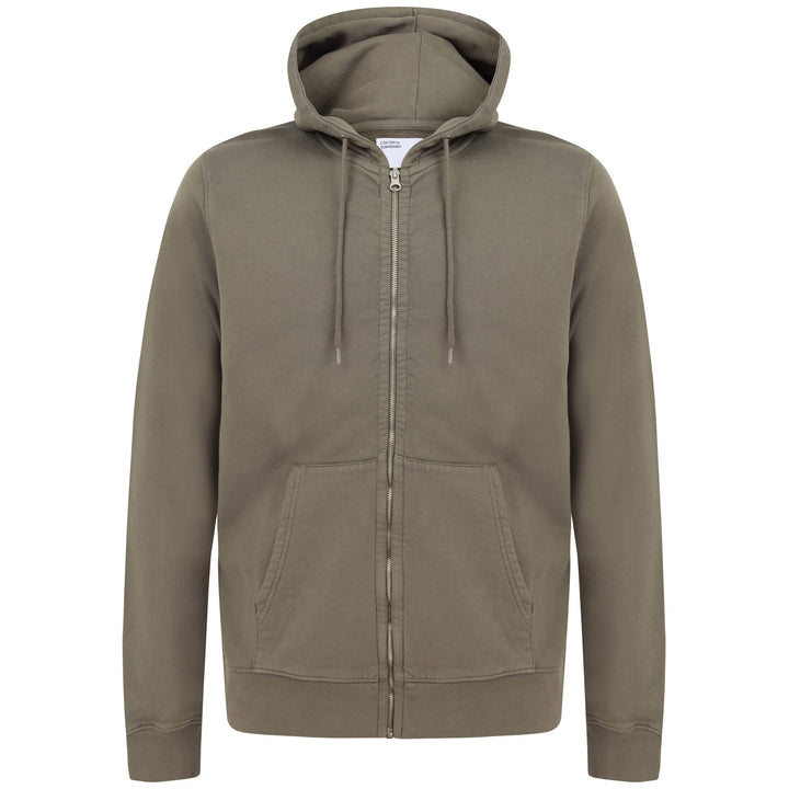 COLORFUL STANDARD L/S FITTED HOODY CS1007 DUSTY OLIVE