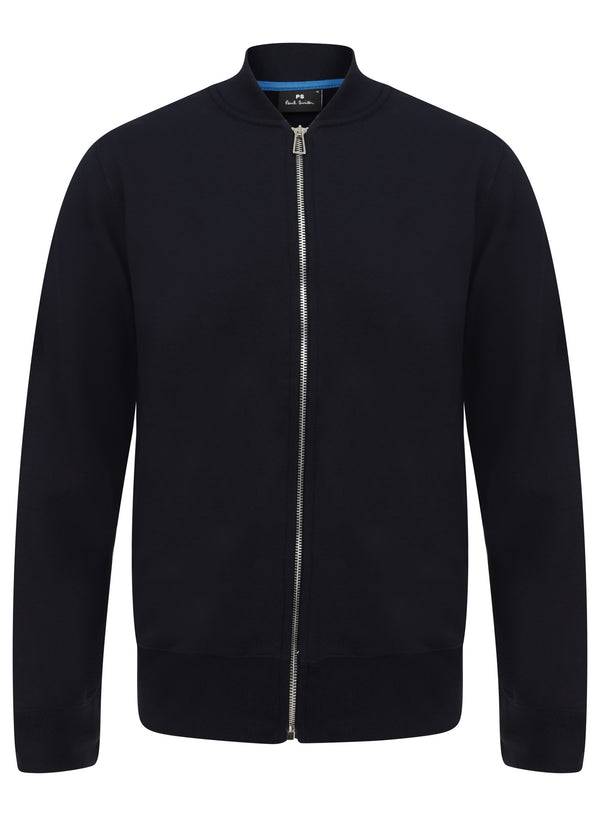 PAUL SMITH L/S FITTED ZIP THRU CARDIGAN M2R/258S/C20075 - mistr-co-uk