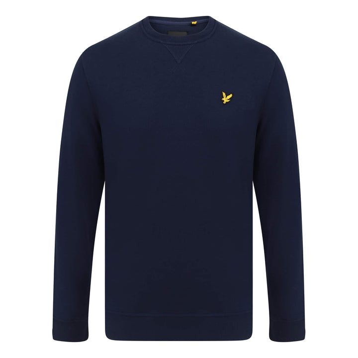 LYLE & SCOTT L/S LOGO BRANDED JUMPER ML424VTR NAVY (Z99)