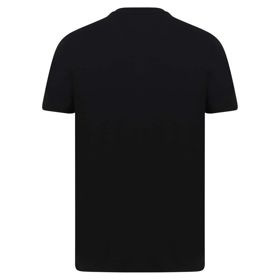 LYLE & SCOTT S/S LOGO BRANDED T-SHIRT TS400V JET BLACK (Z865)