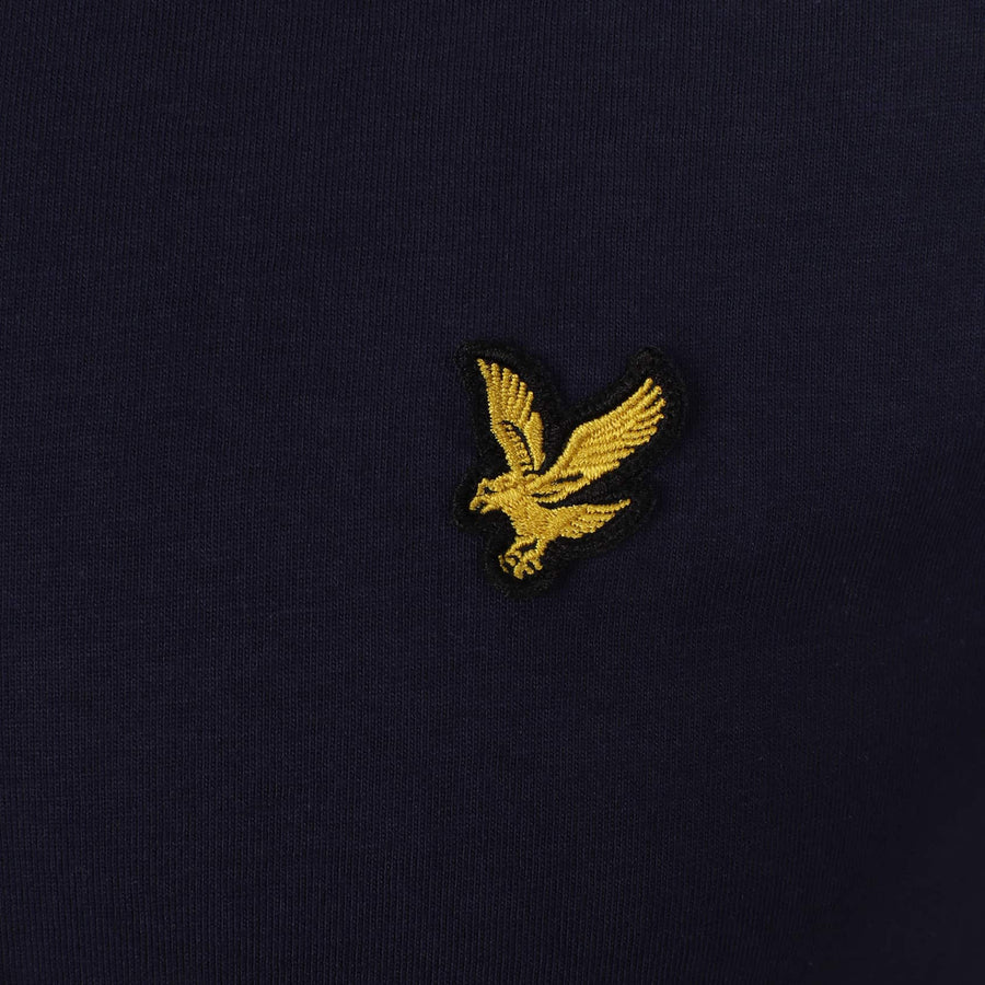 LYLE & SCOTT S/S LOGO BRANDED T-SHIRT TS400V NAVY (Z99)