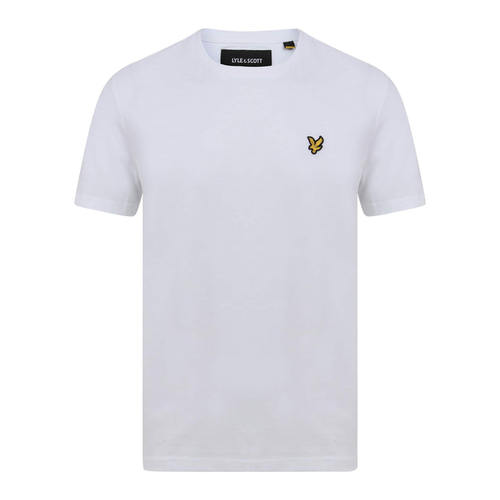 LYLE & SCOTT S/S LOGO BRANDED T-SHIRT TS400V WHITE (626)