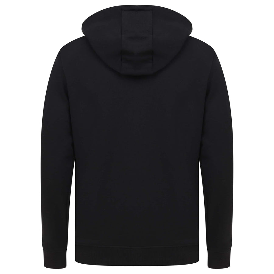LYLE & SCOTT L/S LOGO BRANDED HOODY ML420VTR JET BLACK (Z865)