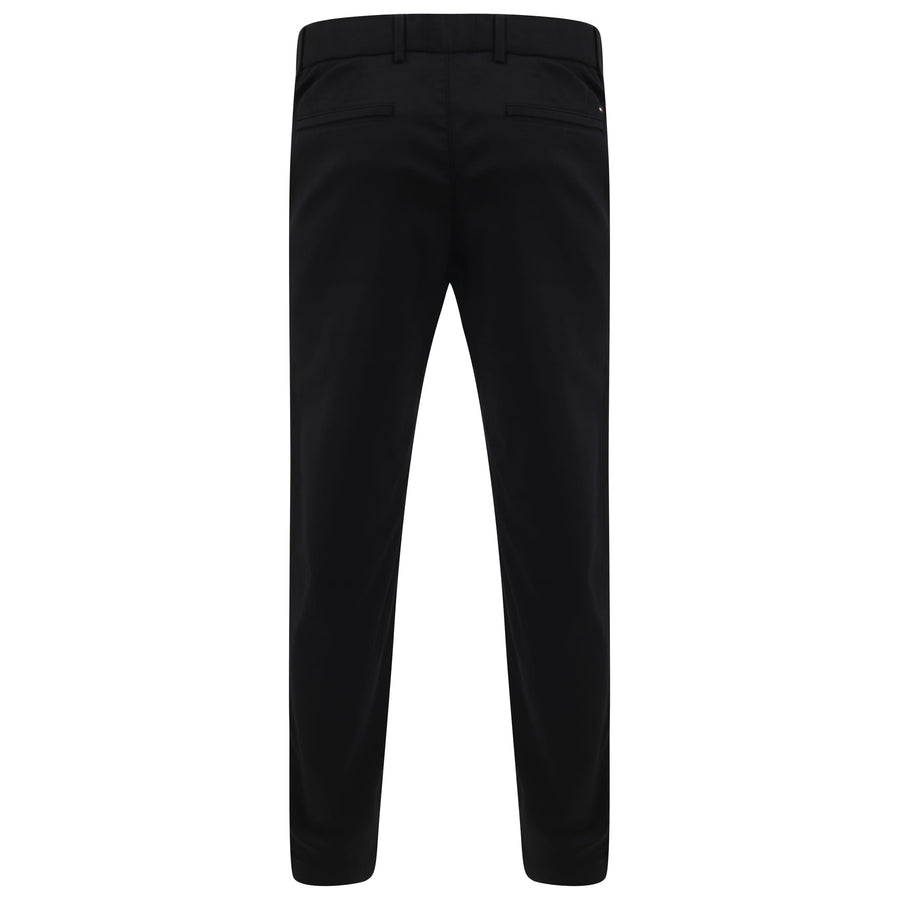 TOMMY HILFIGER SLANT POCKET TAPERED TECH STRETCH TROUSER MW11945 JET BLACK