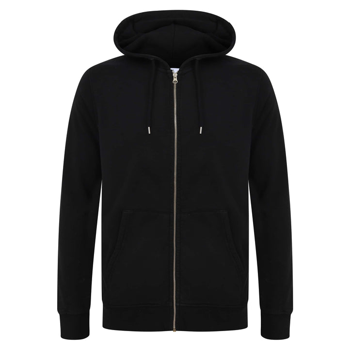 COLORFUL STANDARD L/S FITTED HOODY CS1007 DEEP BLACK