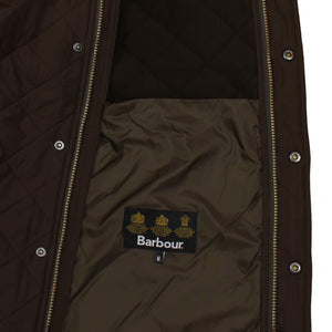 BARBOUR L/S POWELL QUILTED JACKET MQU0281 OLIVE