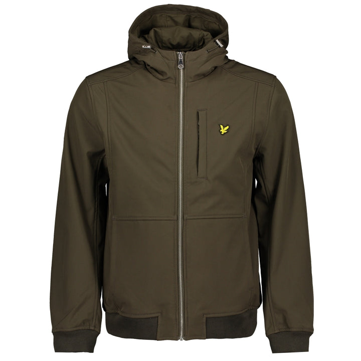 LYLE & SCOTT L/S SOFTSHELL JACKET JK1214V TREK GREEN (W123)