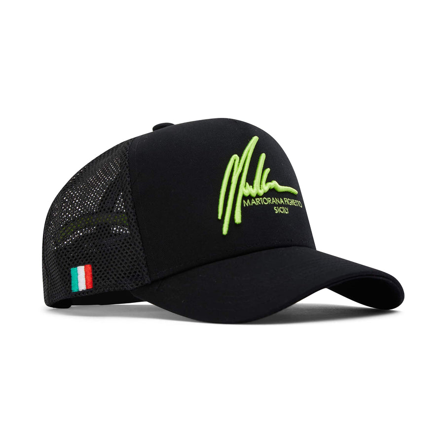 MARTORANA FIGHETTO SIGNATURE TRUCKER NEON YELLOW 85661730 BLACK