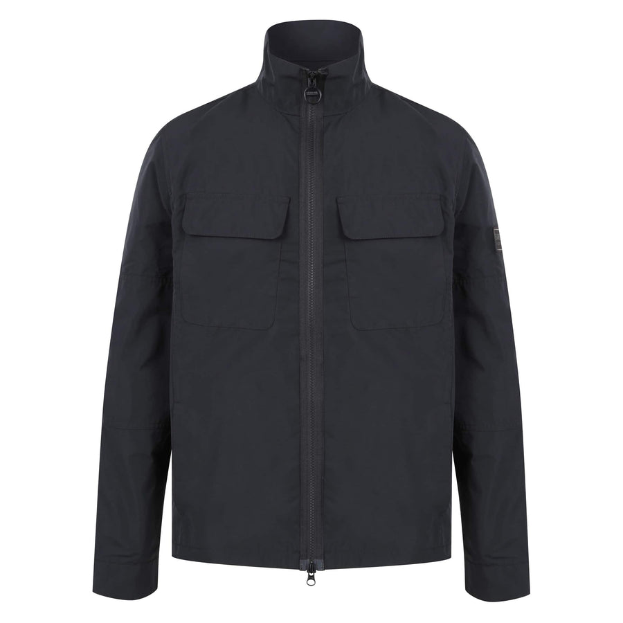 BARBOUR L/S B.INTL SHAW SHIRT MCA0644 BLACK