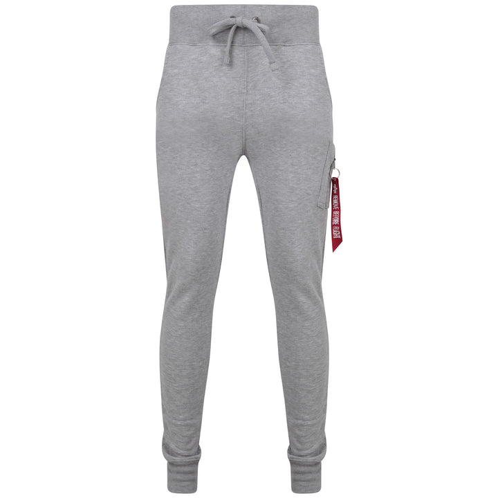ALPHA INDUSTRIES DRAWSTRING X-FIT JOGGER 178333 GREY HEATHER