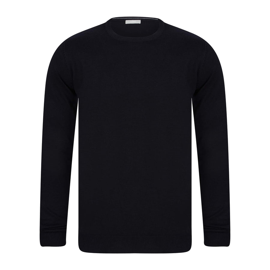 SSEINSE GIROCOLLO FITTED JUMPER MI1619SS BLACK (NE)