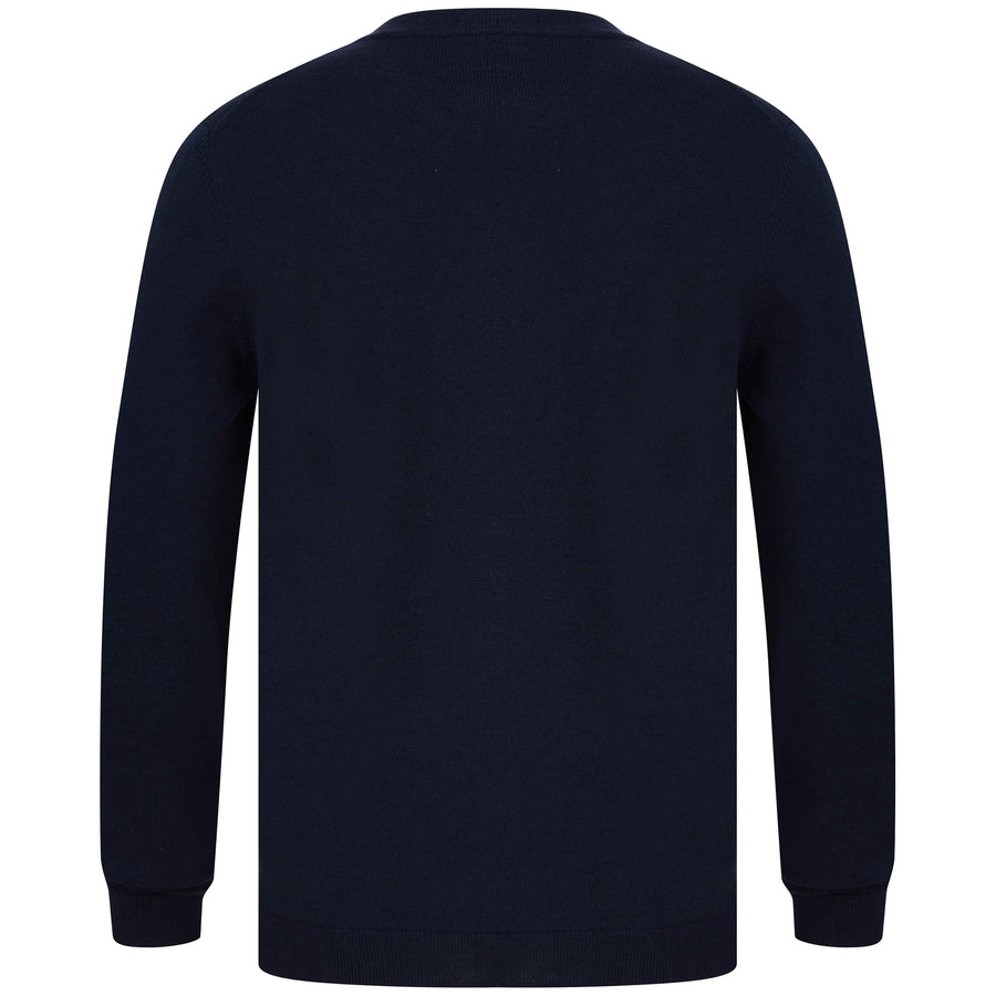 BOSS L/S RANCO KNITTED JUMPER 50433935 NAVY (410)